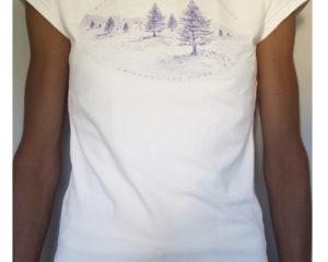 T-shirt quand les beautés sont infinies ...de robin millie